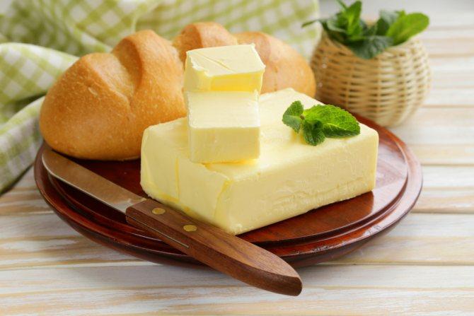 Сколько сливочного масла можно съедать в день