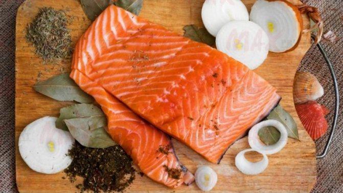 Сколько солится рыба?
