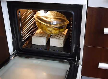 Скумбрия с картошкой в духоке