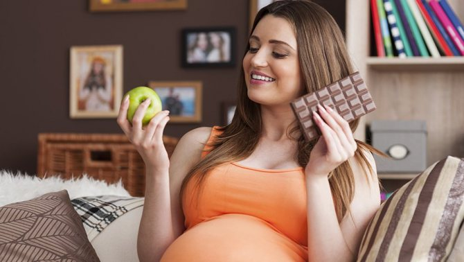 сладкое при беременности