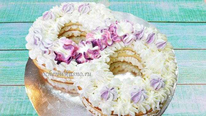 Сливочно-сметанный крем для торта (универсальный): 2 рецепта