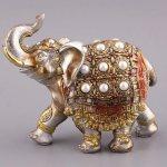 слон с жемчугом