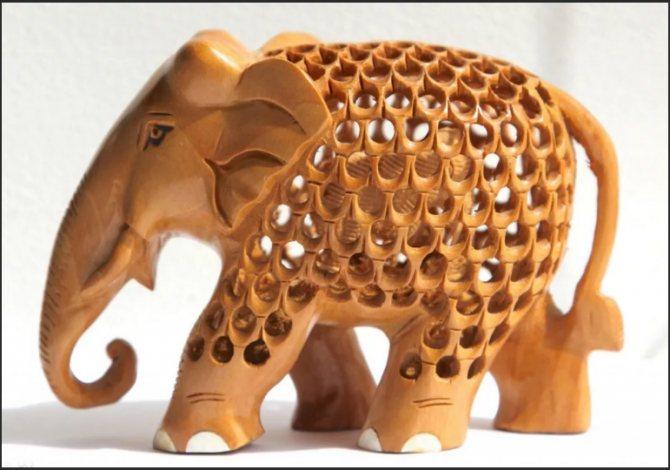 слон внутри слоненок