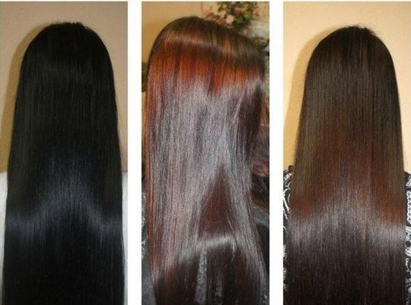 смыть черный цвет волос