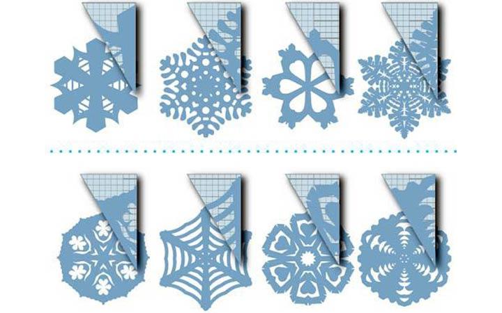Снежинки для новогоднего декора