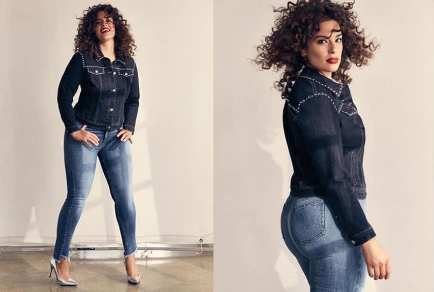 Снимки из рекламы с участием девушки