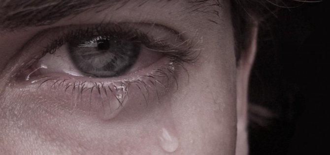 снится что я плачу сильно во сне