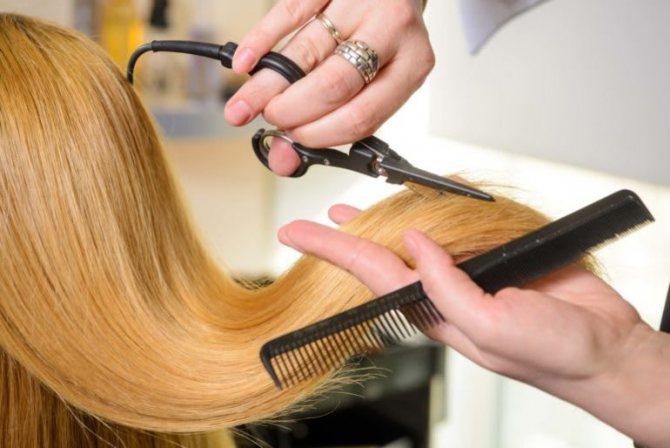 Снится стрижка волос