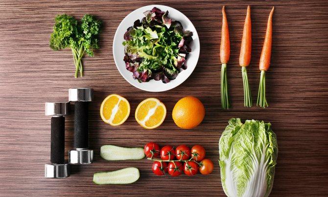 Сочетание диеты с тренировками