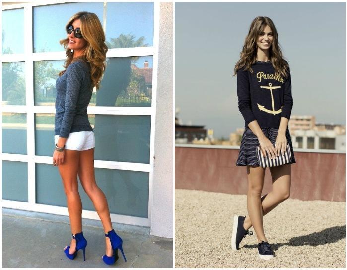 Сочетание одежды, обуви и аксессуаров