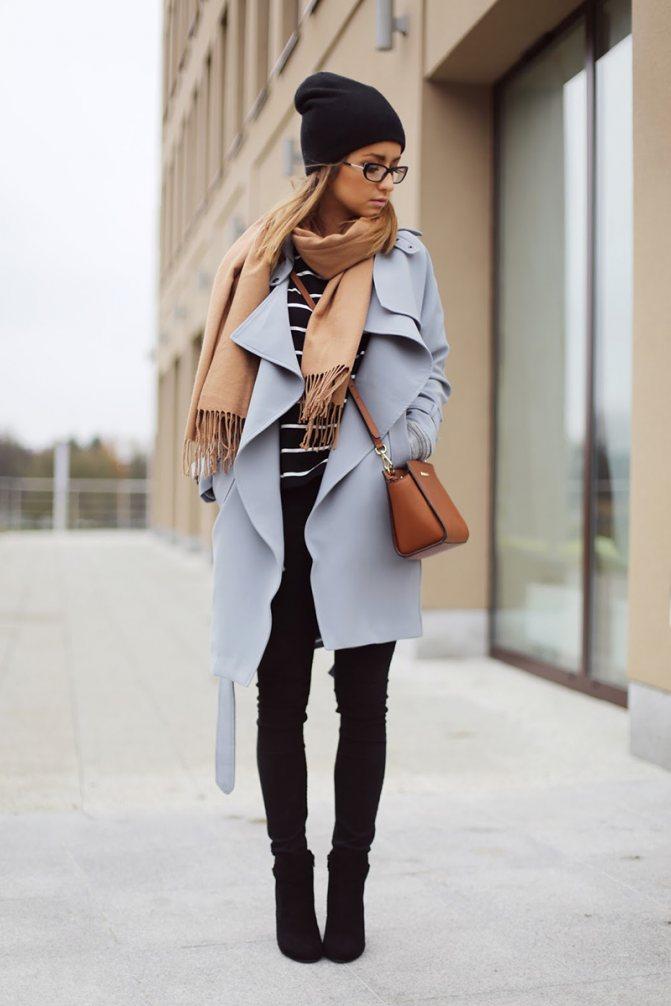 Сочетание пальто и шапки – фото новинки сезона