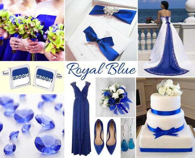 сочетание темно синего цвета с другими цветами