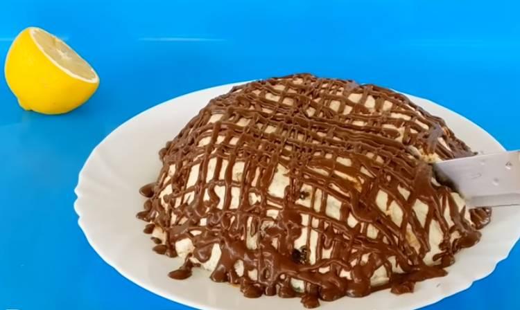 сочный торт из пряников