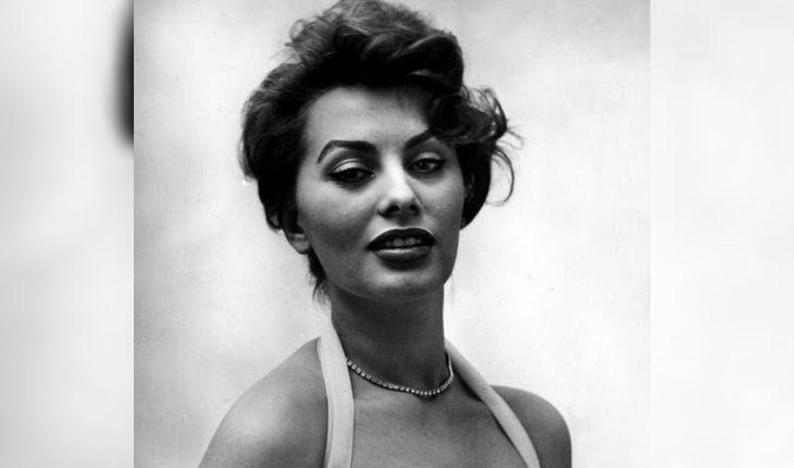 Софи Лорен в молодости (1953 год)
