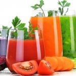 Соки овощные