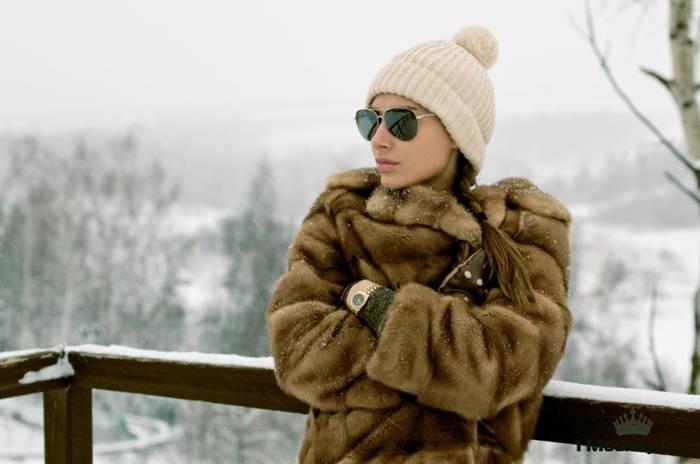 солнечные очки зимой