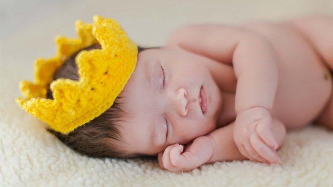 Сон новорожденного