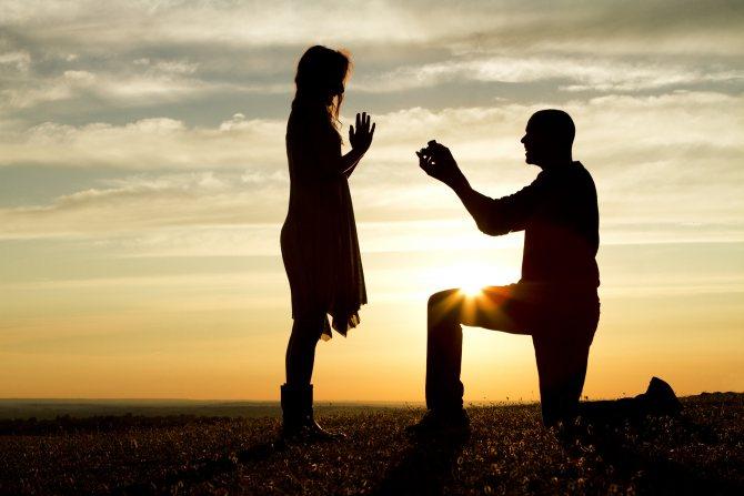 Сонник предложение выйти замуж от бывшего