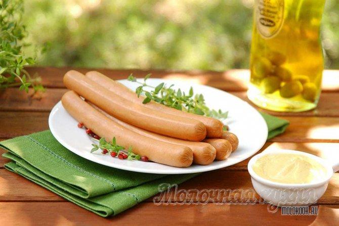 Сосиски в домашних условиях: пошаговый рецепт с фото