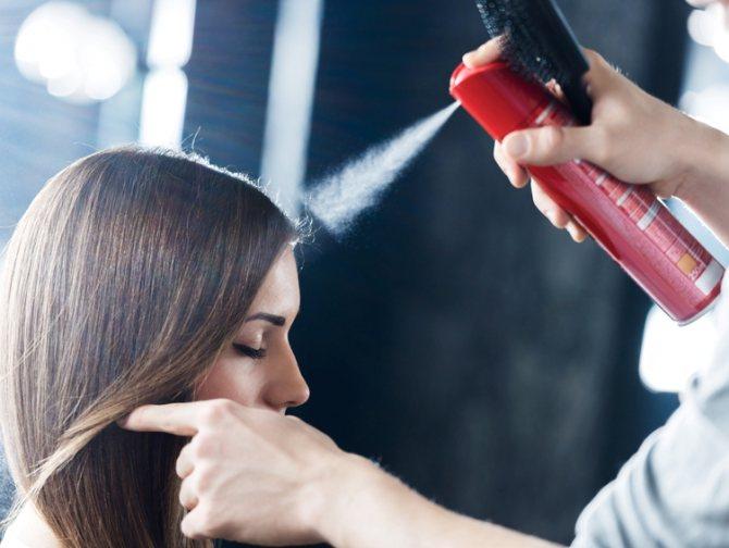 Состав лака для волос Прелесть