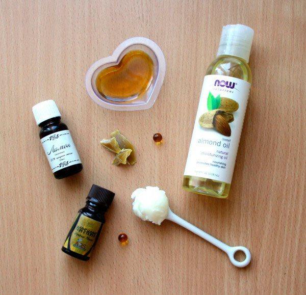 Составляющие масла для кутикулы