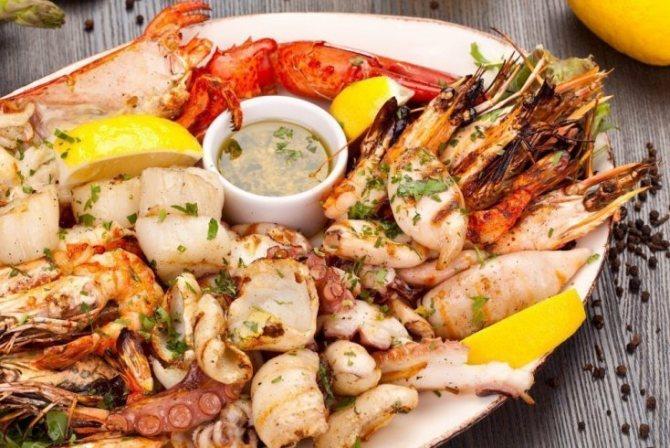 Соус «Биск» для морепродуктов и рыбы
