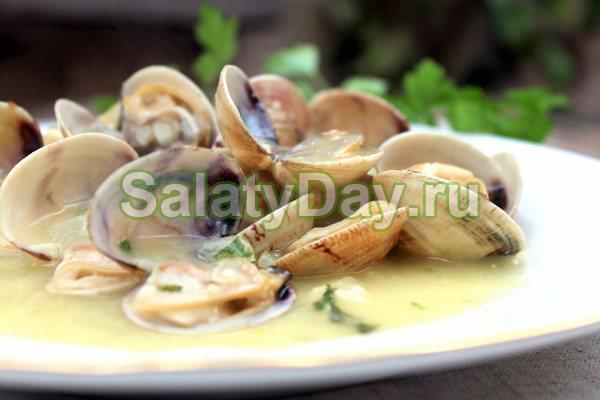 Соус для тёплых салатов