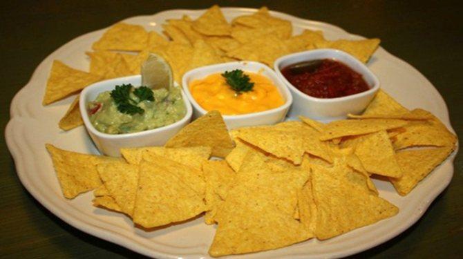 Соусы для чипсов