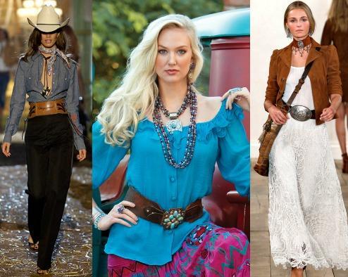 Современный стиль кантри в одежде
