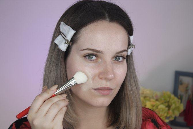 создаем нюдовый макияж