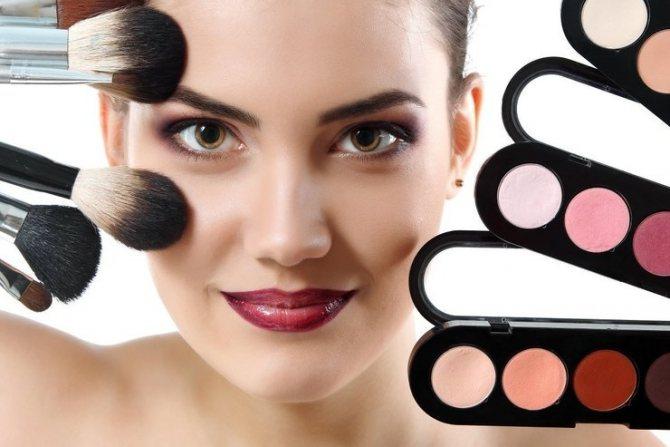 Создание профессионального макияжа