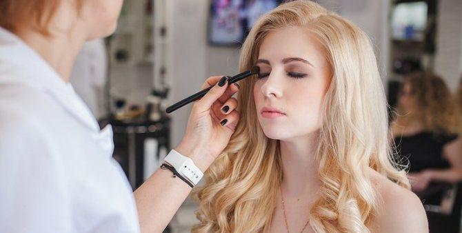 Создание вечернего макияжа