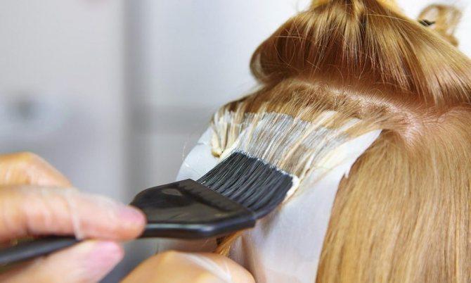 сожгли кожу при осветлении волос