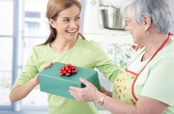 Список подарков свекрови на Новый год 2020