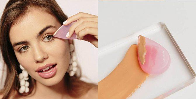 спонж для макияжа, силиспонж, ириск, бьютиблендер, макияж