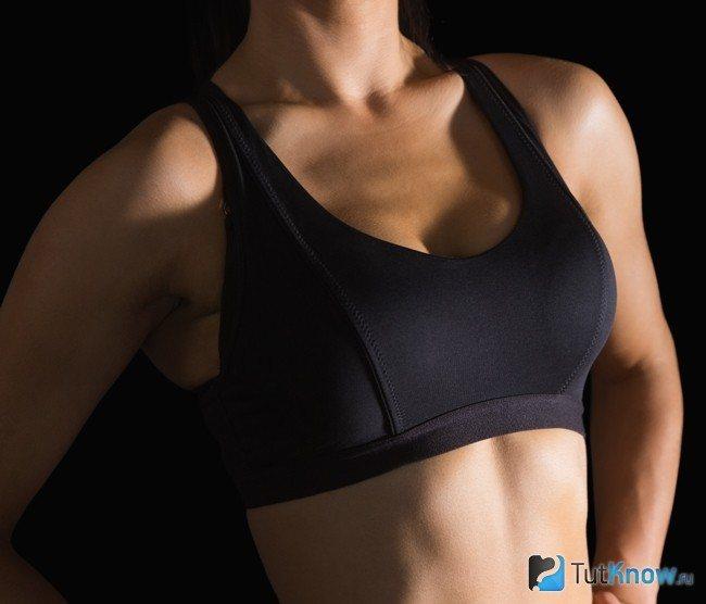 Спортивный бюстгальтер для подтяжки груди