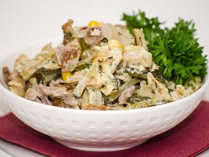 Способы приготовления салатов с говядиной