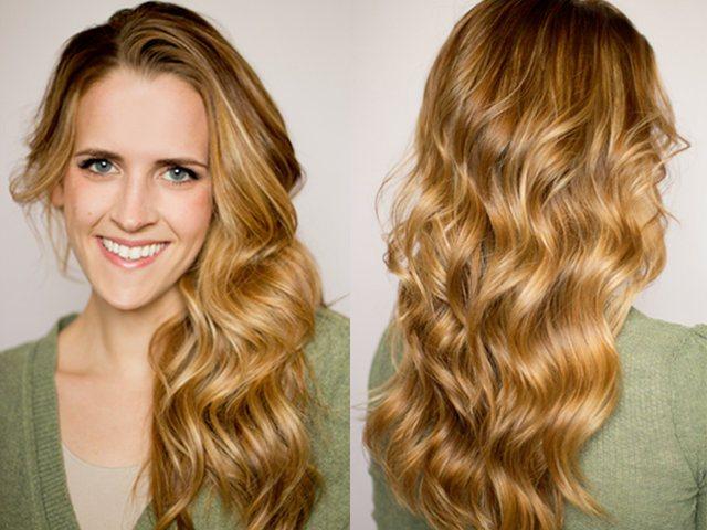 Способы завивки на утюжок волос разной длины
