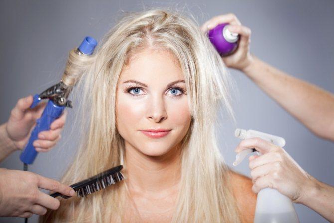 Спреи для волос в домашних условиях Фото 2