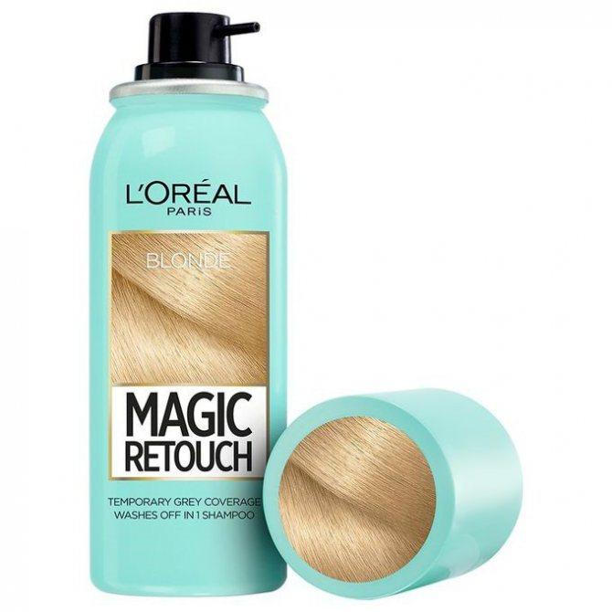 спрей для закрашивания корней волос цена