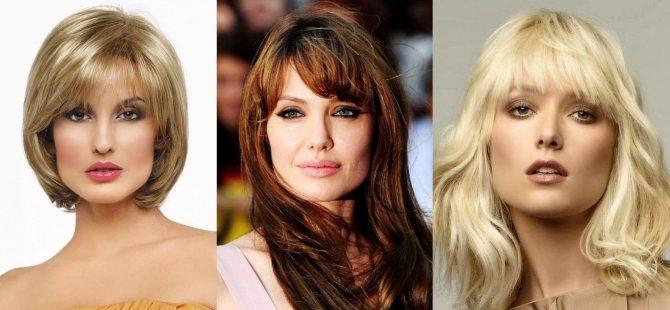Средние стрижки волос женщинам 45 лет, стильная прическа, новинки 2020