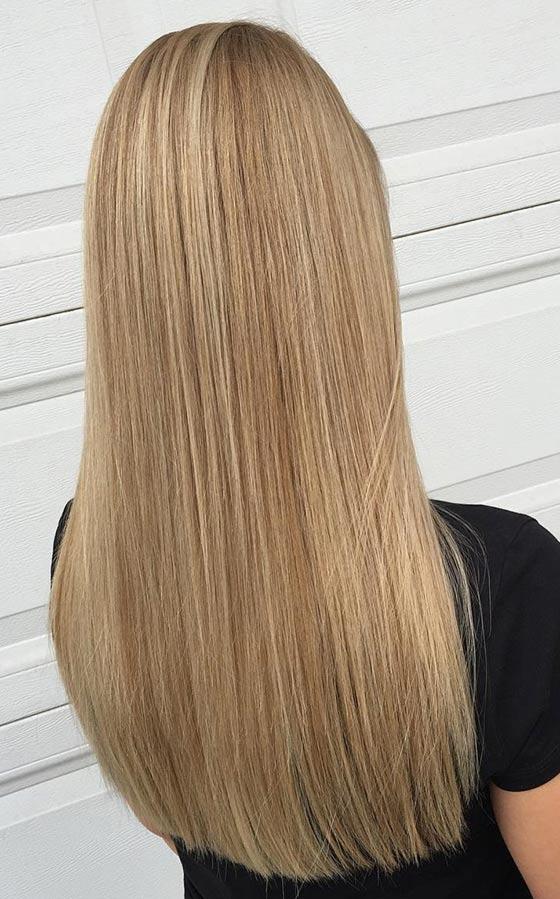 Средний блонд