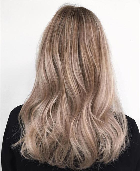 Средний пепельный блонд