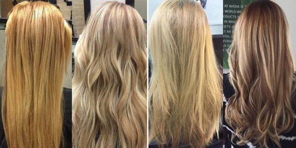 Средства для волос после мелирования
