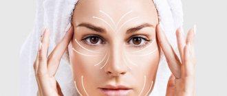 Стадии старения кожи лица
