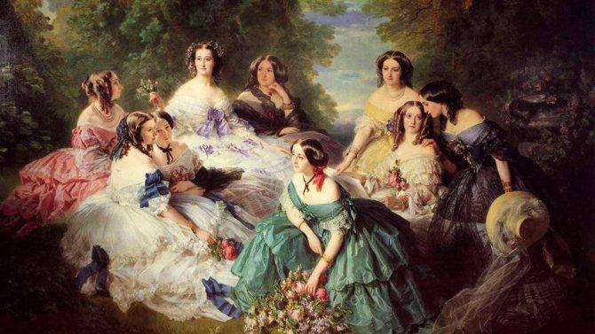 Стандарты женской красоты в 19 веке