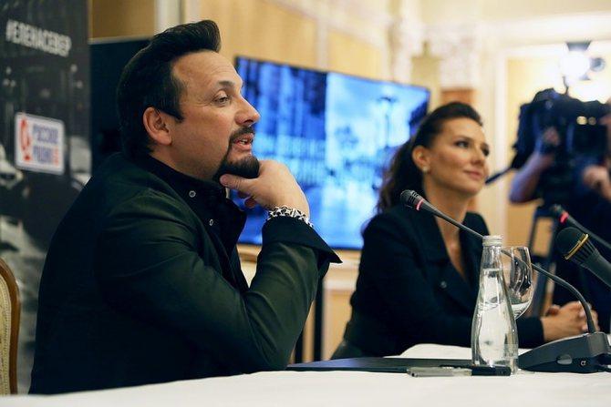 Стас Михайов записал дуэт с петербургской певицей Еленой Север Фото: Олег КУЗЕНКОВ