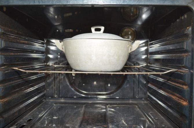 ставим в духовку