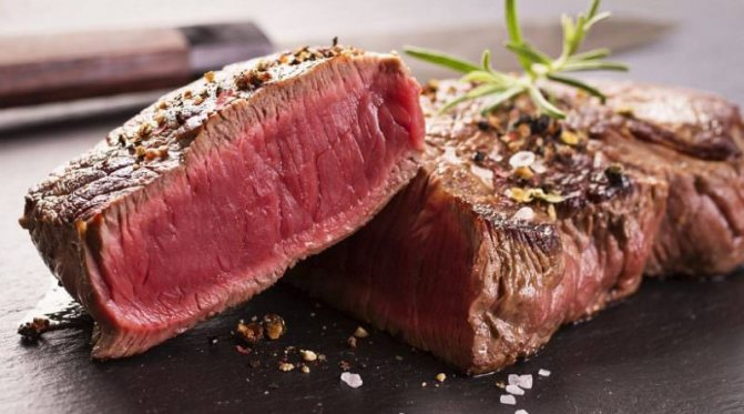 стейк из говядины на сковороде рецепт