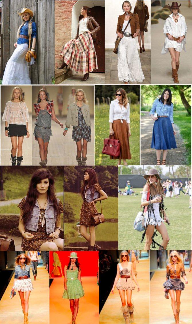 Стиль кантри в одежде для женщин: юбки, платья, аксессуары и много фото | Что такое кантри стайл?
